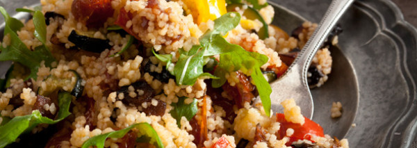 Roasted vegetable couscous salad