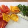 Step-by-step: Marinated roasted peppers for tapas or salad