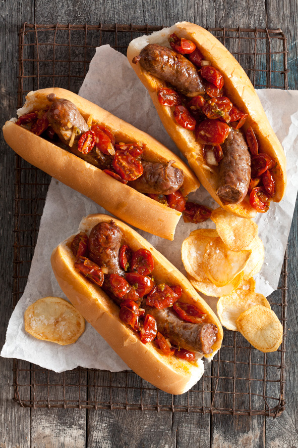 America—land of the free and home of the hot dog. Sure, the ballpark franks we love may have originated in Germany, but they've been perfected in the good ol' U.S. of A. We rounded up toppings.