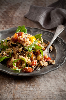 Pronto Mama Recipe Roasted Vegetable Cous cous salad
