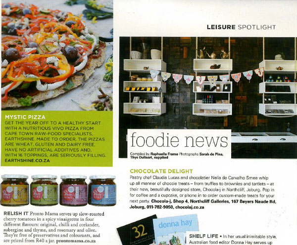 Pronto Mama features in House and Leisure
