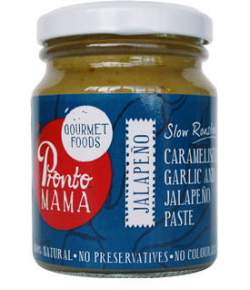Garlic and Jalapeno Paste from Pronto Mama