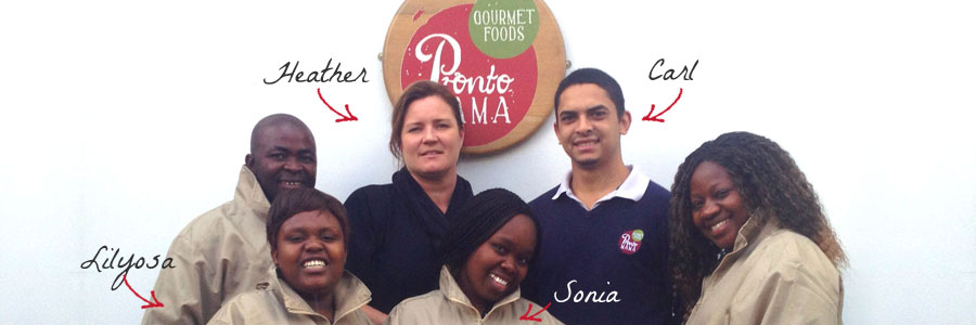 The Pronto Mama Team