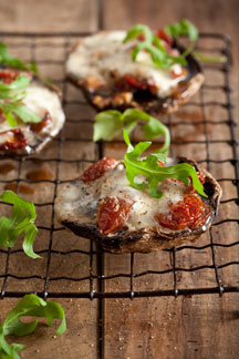Pronto Mama Recipe Tomato Mozarella Stuffed Mushrooms